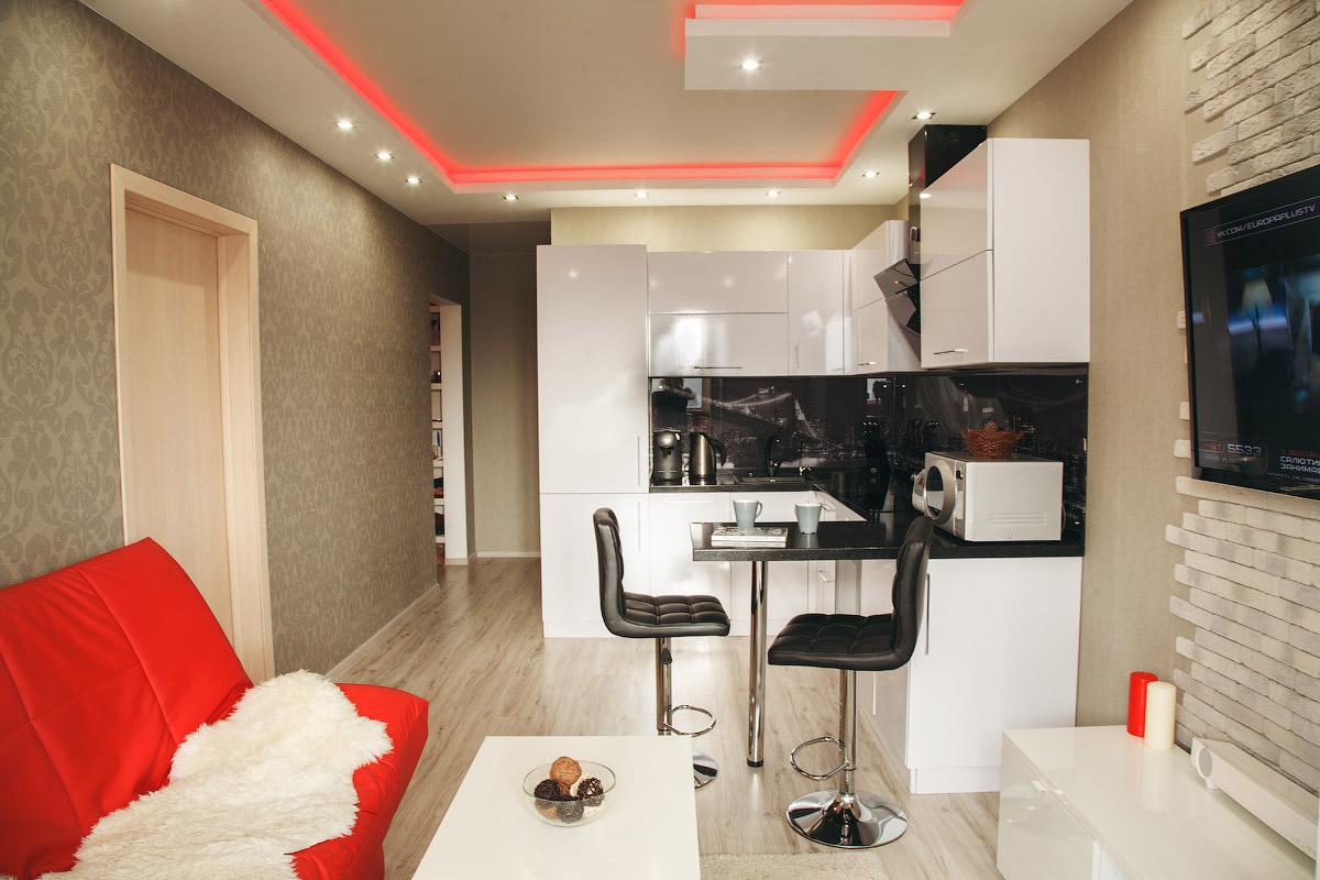 Проекты ремонта квартир студий